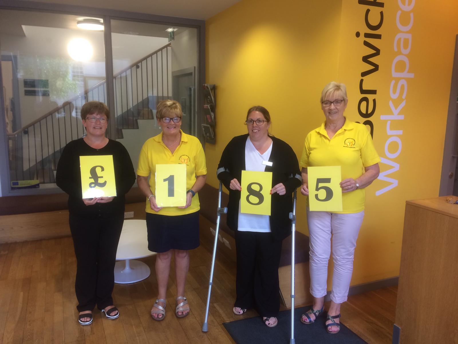 Berwick Workspace Raises Money for Berwick Cancer Cars