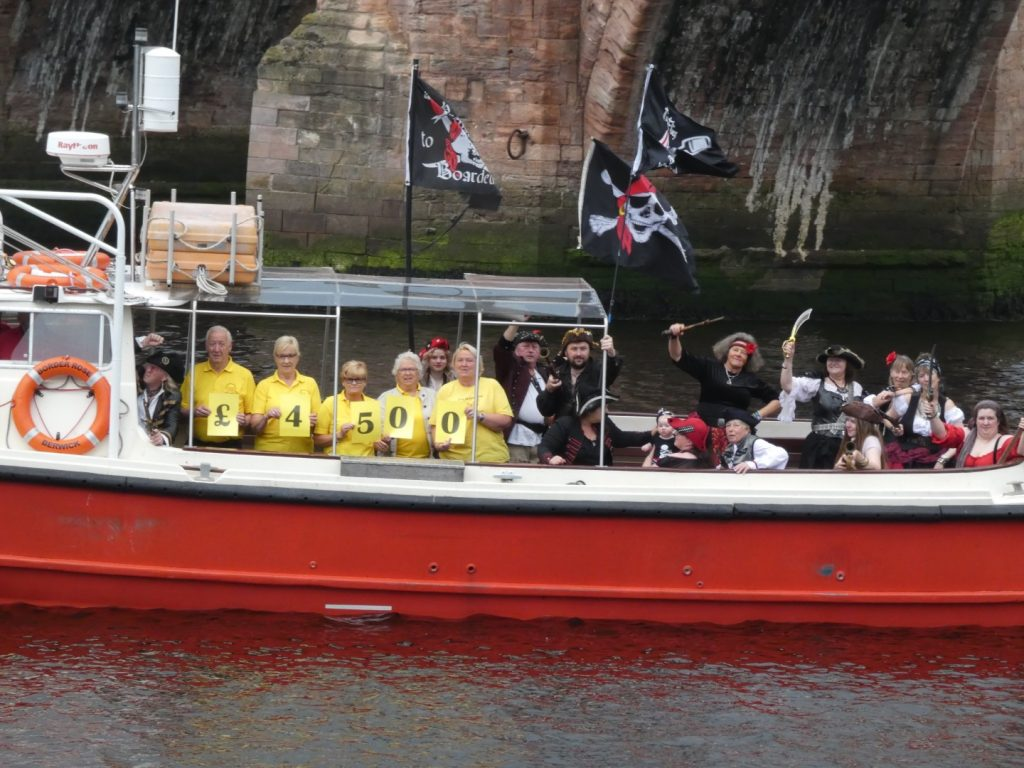 Plundering PIrates of the North East - Berwick Cancer Cars