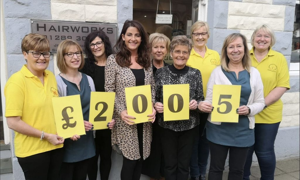 Hairworks Berwick Raises Money for Berwick Cancer Cars