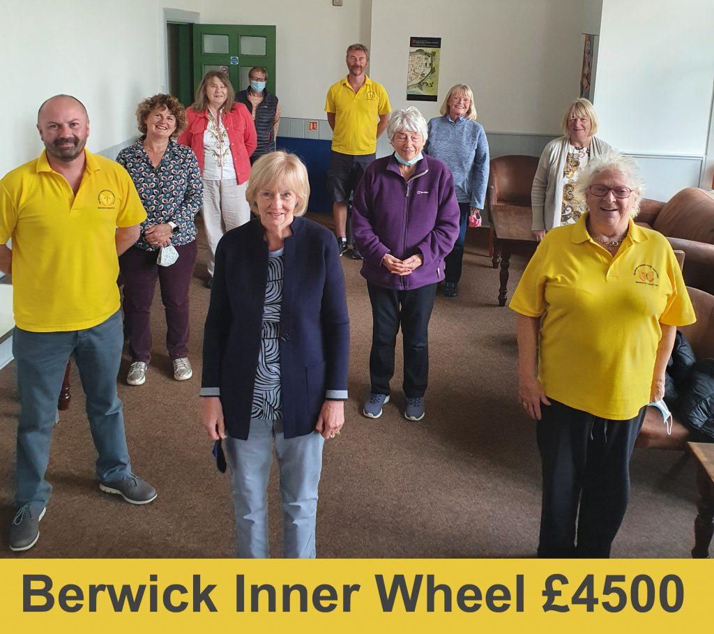 Berwick Inner Wheel Presentation 2020