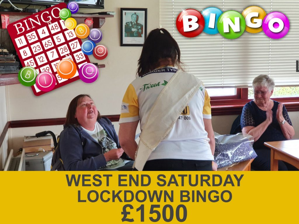 Carol Ditchfield's 'lockdown bingo' rasies £1500 for Berwick Cancer Cars