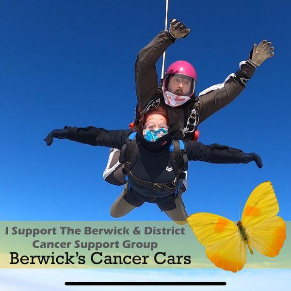 Donna Hindmarsh McRae Parachute Jump 2020