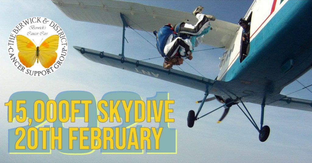 Freya Ryan Tandem Skydive 2021