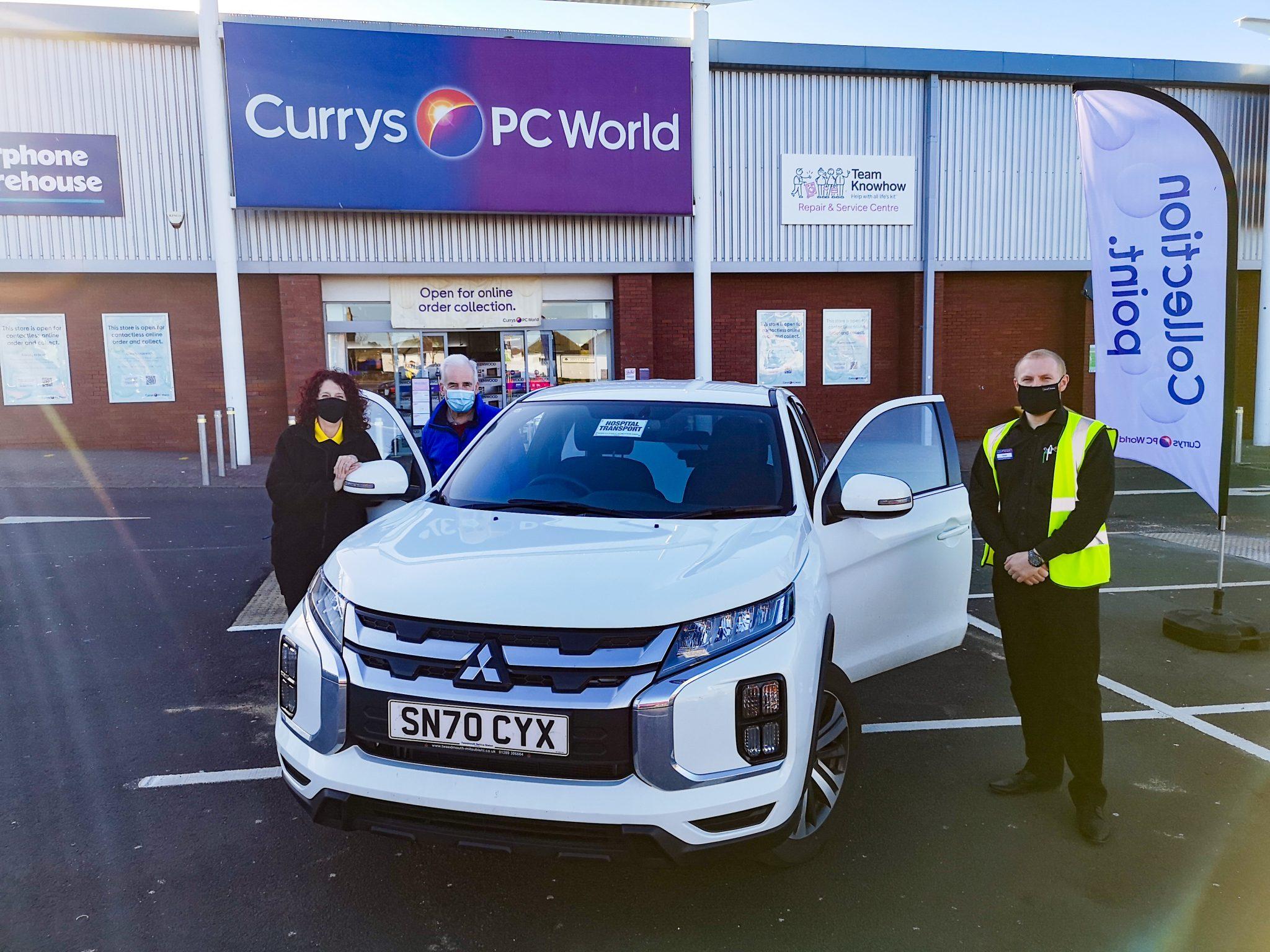 Currys PC World Berwick Donation