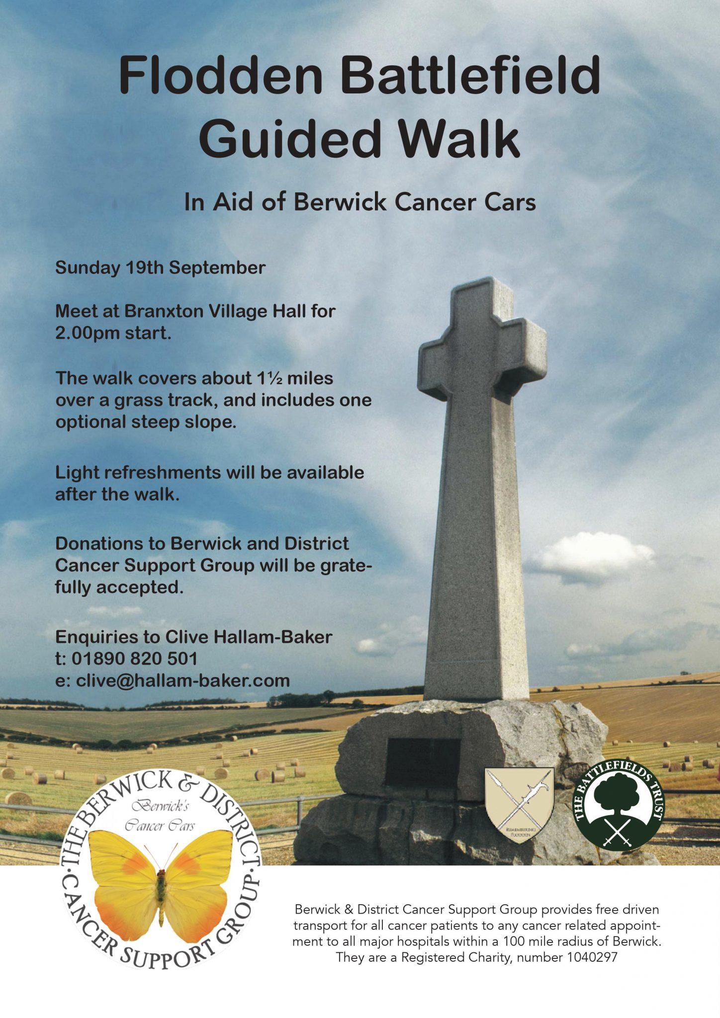 Flodden Fundraising Walk
